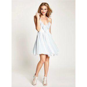 Guess Striped Spaghetti Strap Dress Size 6